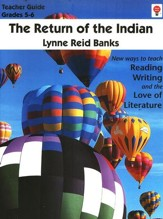 Return of the Indian, Novel Units Teacher's Guide, Grades 5-6