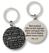 Names of Jesus Key Ring