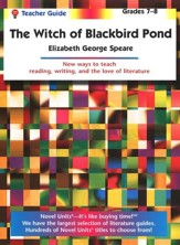 The Witch of Blackbird Pond, Novel Units Teacher's Guide, Gr. 7-8