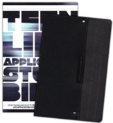 NLT Teen Life Application Study Bible, TuTone Black Pocket Imitation Leather