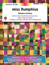 Miss Rumphius, Novel Units Teacher's Guide, Grades 1-2