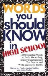 Words You Should Know in High School