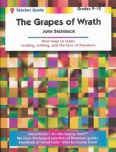 The Grapes of Wrath, Novel Units  Teacher's Guide, Grades 9-12