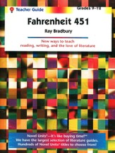 Fahrenheit 451, Novel Units Teacher's Guide, Grades 9-12