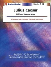 Julius Caesar, Novel Units Student Packet, Grades 9-12