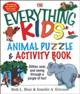 The Everything Kids' Animal Puzzle and Activity Book