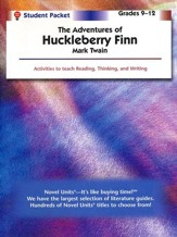 Adventures of Huckleberry Finn, Novel Units Student Packet, 9-12