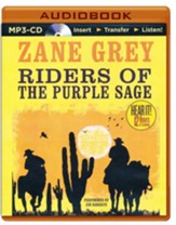 Riders of the Purple Sage - unabridged audio book on MP3-CD