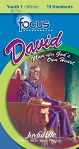 David: A Man after God's Own Heart Youth 1 Focus (Student Handout; Grades 7-9; 2014)