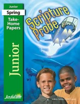 Scripture Probe Junior (grades 5-6) Take-Home Papers (Spring Quarter)