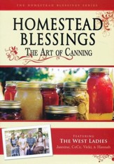 Homestead Blessings Two: The Art of Canning DVD