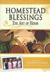 Homestead Blessings Two: The Art of Herbs DVD