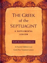 The Greek of the Septuagint: A Supplemental Lexicon