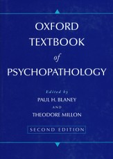 Oxford Textbook of Psychopathology, second edition  - Slightly Imperfect