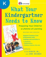 What Your Kindergartner Needs to Know (Revised and updated) - eBook