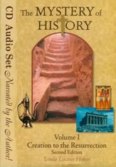 The Mystery of History Volume 1 Second Edition, Audio Book Set (10 Audio CDs) - Slightly Imperfect