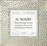 In Memory, Until the Day We Are Reunited, Framed Print, 7X7