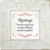Marriage, From This Day Forward, Framed Print, 7X7