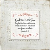God Be With You, Framed Print, 7X7