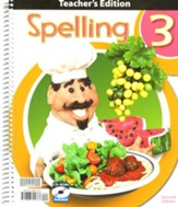 BJU Spelling Grade 3 Teacher's Edition with CD-Rom (2nd Edition)