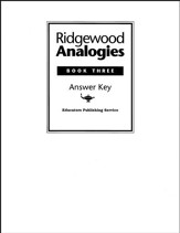 Ridgewood Analogies, Book 3 Guide
