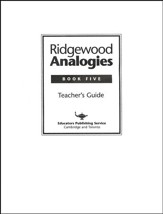Ridgewood Analogies, Book 5 Guide