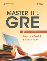 Master the GRE: Practice Test 2: Practice Test 2 of 4 - eBook