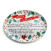Merry Christmas Giving Platter