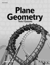 Abeka Plane Geometry Tests/Quizzes