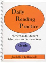 Daily Reading Practice Grade 1 Teacher Guide
