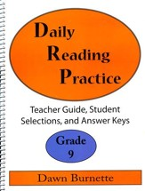 Daily Reading Practice Grade 9 Teacher Guide
