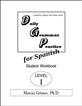 Daily Grammar Practice for Spanish I Student Workbook