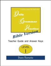 Daily Grammar Practice Bible Version Level 1 Teacher Guide