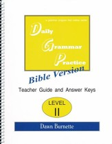 Daily Grammar Practice Bible Version Level 2 Teacher Guide