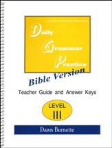 Daily Grammar Practice Bible Version Level 3 Teacher Guide