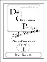 Daily Grammar Practice Bible Version Level 3 Student Workbook