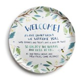 Welcome Family Giving Plate