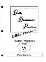 Daily Grammar Practice Bible Version Level 6 Student Workbook
