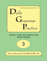Daily Grammar Practice Grade 3 Teacher Guide
