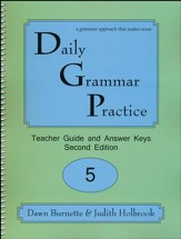 Daily Grammar Practice Grade 5 Teacher Guide