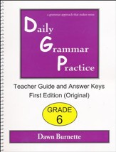 Daily Grammar Practice Grade 6 Teacher Guide (1st Edition)