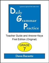 Daily Grammar Practice Grade 7 Teacher Guide (1st Edition)