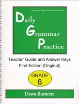 Daily Grammar Practice Grade 8 Teacher Guide (1st Edition)