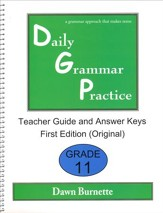 Daily Grammar Practice Grade 11 Teacher Guide (1st Edition)