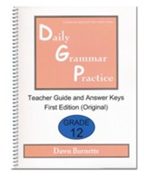 Daily Grammar Practice Grade 12 Teacher Guide (1st Edition)