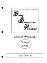 Daily Grammar Practice College Student Workbook (1st Edition)