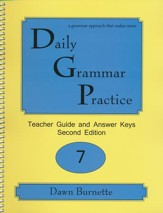 Daily Grammar Practice Grade 7 Teacher Guide (2nd Edition)