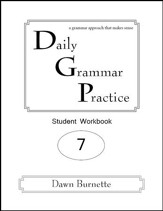 Daily Grammar Practice Grade 7 Student Workbook (2nd  Edition)