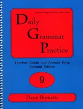 Daily Grammar Practice Grade 9 Teacher Guide (2nd Edition)