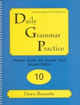 Daily Grammar Practice Grade 10 Teacher Guide (2nd Edition)